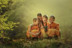Novice buddist monk photography. by Jakkree Thampitakkul on 500px,Mianmar