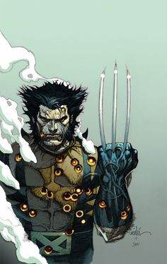 Comic Book Illustrations by Leinil Francis Yu   Inspiration Grid   Design Inspiration #Wolverine