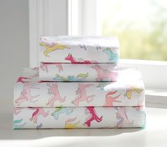 Scarlett? Rainbow Quilted Bedding | Pottery Barn Kids