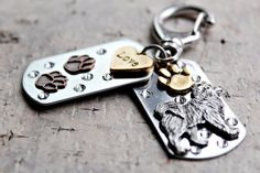 Samoyed Key Chain Samoyed Purse/Bag Jewelry by KathrynsCollection