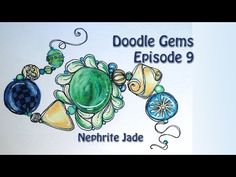 How to Draw Ruby Star ornament Doodlegems Tutorial Ep 34 - YouTube