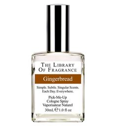 Library of Fragrance Gingerbread Eau de Toilette 30ml | Fragrance - Boots