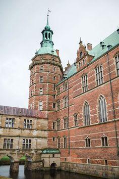 Frederiksborg Slot in Hillerød, Denmark.