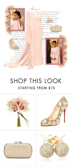 """""""Camilla Alves"""" by louisewinther ❤ liked on Polyvore featuring Christian Louboutin and Loushelou"""