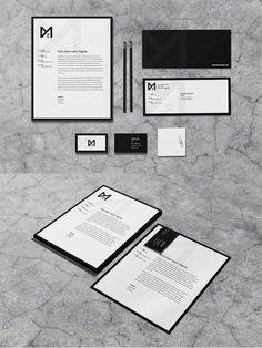 Noir - Stationery Set