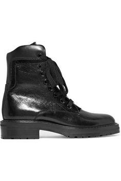 ce477fdc76e31f Aquazzura Guns   Roses 85 leather ankle boots