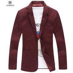mannen blazer jasje 2015 nieuw merk zwarte blazer voor mannen blazers kostuum 5xl slim fit blazer masculino jaqueta blauwe kerst man(China (Mainland))
