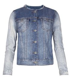 All Saints Aya Denim Jacket, $158, allsaints.com