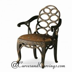 Curves & Carvings Signature Collection Chair - C&C CHAIR0114