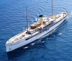 (SS Delphine) (258') Motor Yacht - Built in 1921 by the Great Lakes Engineering Works in River Rouge, Michigan