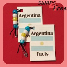 SWAPS4Free: Argentina Fact Book World Thinking Day SWAPS - Free Printable!