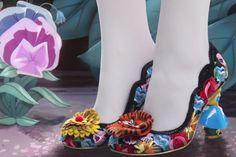 Alice in Wonderland heels. I would wear that!