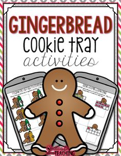 Use these Gingerbread themed activity sheets with cookie trays. Perfect  for the month of December! This is a smaller themed pack good for 1-2 weeks of activities, maybe more depending on how you choose to use them. 27 activity pages are included with the following activities:Color sorting gingerbread men (5 activity pages)Gingerbread cookie matching Color  gingerbread matchingGingerbread shape matching Gingerbread kids matchingColorful gingerbread matching Magnetic letter matching (5…