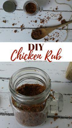 DIY Chicken Rub