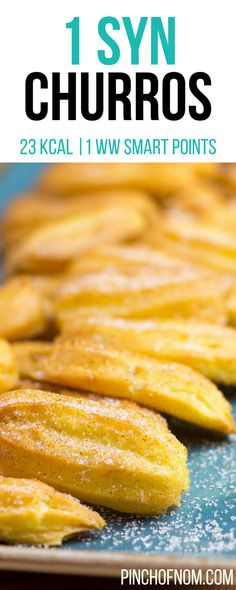 1 Syn Churros Pincée de Nom Slimming World Recipes 23 kcal 1 Syn 1 pesez Slimming World Taster Ideas, Slimming World Puddings, Easy Slimming World Recipes, Slimming World Desserts, Slimming World Breakfast, Slimming Eats, Slimming World Cookies, Healthy Meals For One, Super Healthy Recipes