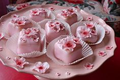 Pink Petit Fours by kbo, via Flickr