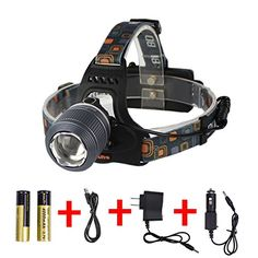 Boruit Zoomable LED Headlamp with Rechargeable Batteries Waterproof for Running 2000 Lumens >>> Check out this great product.(This is an Amazon affiliate link and I receive a commission for the sales)
