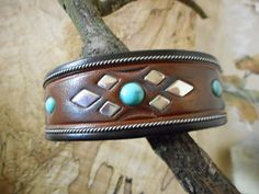Jerry Tucker collectible cowboy cuff by LanciaArts on Etsy