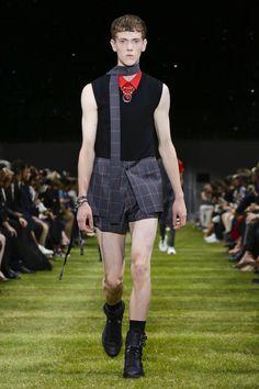 Dior Homme Fashion Show Menswear Collection Spring Summer 2018 in Paris
