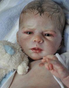 Alla's Babies Newborn Reborn Baby Doll Prototype 'Angel' Olga Auer L E | eBay
