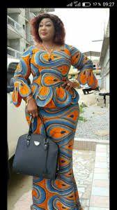 Ankara Long Skirt And Blouse: 55 Beautiful and Stylish Ankara Long Skirt And Blouse Styles For Wedding African Fashion Ankara, Latest African Fashion Dresses, African Print Dresses, African Print Fashion, Africa Fashion, African Attire, African Wear, African Women, Africa Dress