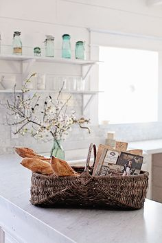 Vintage French Apple Basket