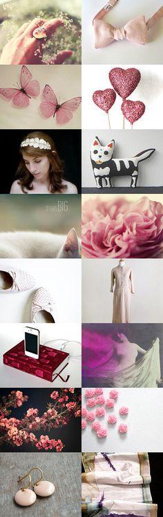 Pink Dream by Amusing Rain on Etsy--Pinned with TreasuryPin.com