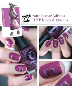 Pantone Color Fashion Report Fall 2014 Radiant Orchid Nail art