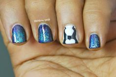 Rainbow Nails: 31DC2014 Day 23 - Inspired by a Movie