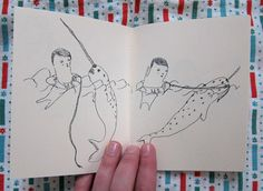 Us At Sea limited edition zine by AllysonMellberg on Etsy, $7.00