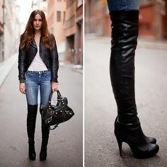 Especial botas largas de temporada | Atractivas botas de mujer