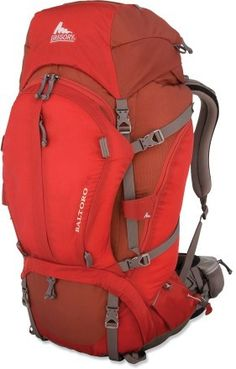 Backpacking pack by Gregory Baltoro -- for future mountaineering endeavors on the West Coast and Scandinavia. xo