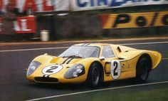 1967 .. Le Mans .. Ford Mk IV J6 , driven by .. McLaren / Donohue , finished 4th o/a