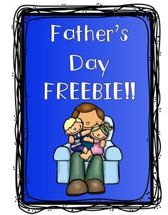 Use this printable to have your child or student(s) share everything that they love about their Daddy. Simple print and have your child fill in their responses. For younger children, you can record their answers for them. Happy Father's Day!!!