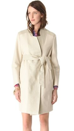 See by Chloe lovely cream coat