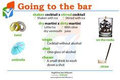 Konečně je tady pátek a s ním i víkend! 🎆 K této příležitosti jsme si připravili pár slovíček, které se vám mohou během víkendu hodit. 🥂 #Friday #Weekend #Bar #Vocabulary #English #Anglictina #AnglictinaBezBiflovani Cocktails, Drinks, The Rock, Martini, Vocabulary, Juice, Alcohol, Craft Cocktails, Drinking