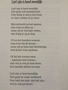 Tekst lief zijn Poem Quotes, Poems, Learn Dutch, Wise Words, Coaching, Drama, Mindfulness, Classroom, Letters