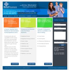 www.rthealth.ca website, designed and developed by PearlWhiteMedia.com