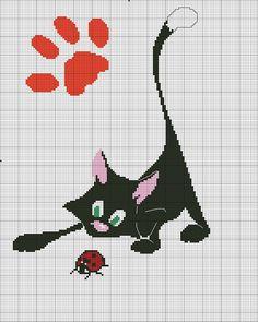 Gallery.ru / Фото #3 - 13 - mikolamazur Cat and ladybird