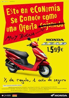 Gráfica Prensa / Honda Motos / Lead juannavarro.jnt@gnail.com
