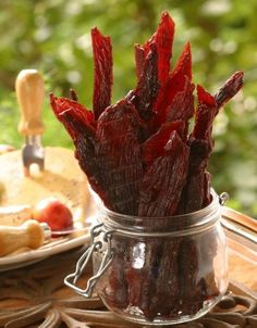 Venison Jerky: great recipe and tip for using the oven instead of a dehydrater