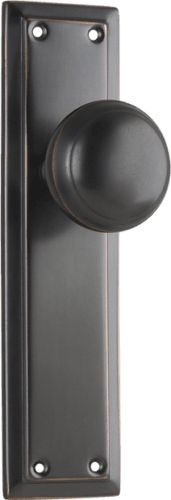 This traditional door knob is part of the Richmond Collection by Tradco Hardware and is available in a range of door functions for interior and exterior doors.