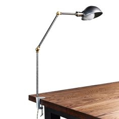 The Decker | Clamp On Desk Lamp | Huckberry
