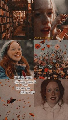 Anne Tv Series, Movies And Series, Wallpaper Iphone Vintage, Aesthetic Desktop Wallpaper, Sad Movie Quotes, Sad Movies, Anne Shirley, Tomorrow Is A New Day, Gilbert And Anne