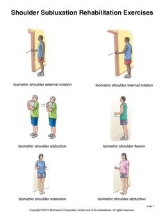 Summit Medical Group - Shoulder Subluxation Exercises
