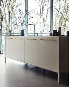 CESAR, anticipazione Fuorisalone 2017 Freestanding kitchen to maximize the amazing view