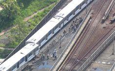 Move Metrópole | Sempre em movimento!: Trem do Metrô descarrila na Zona Leste de São Paul...