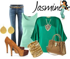 """""""Jasmine"""" by audreyk1227 ❤ liked on Polyvore"""