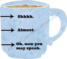 Coffee Printable & 23 more Free Printables for March at ALittleClaireification.com #Free #Printables