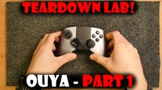 Teardown Lab - Ouya Part 1 Controller OUYA! I tear into a classic Kickstarter backed hardware project!   I have put together Teardown Lab because I cannot bear to throw away useless junk but I can give it one last hoorah in usefulness by sharing what is inside and possibly figuring out how it works! Please feel free to ping me with suggestions or if you want to send me something to dismantle (or try to repair!) for the channel!  Please subscribe for more or keep in touch in your preferred…